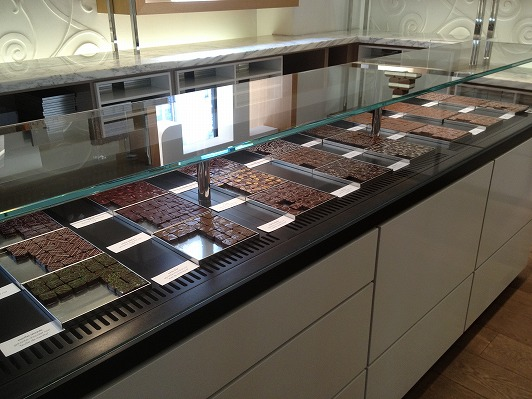 La Chocolaterie de Jacques Genin 店内