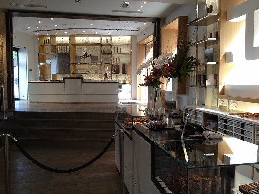 La Chocolaterie de Jacques Genin 店内2