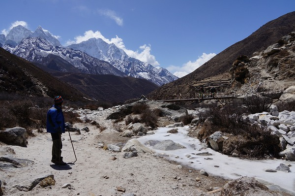dingboche to lobuche3