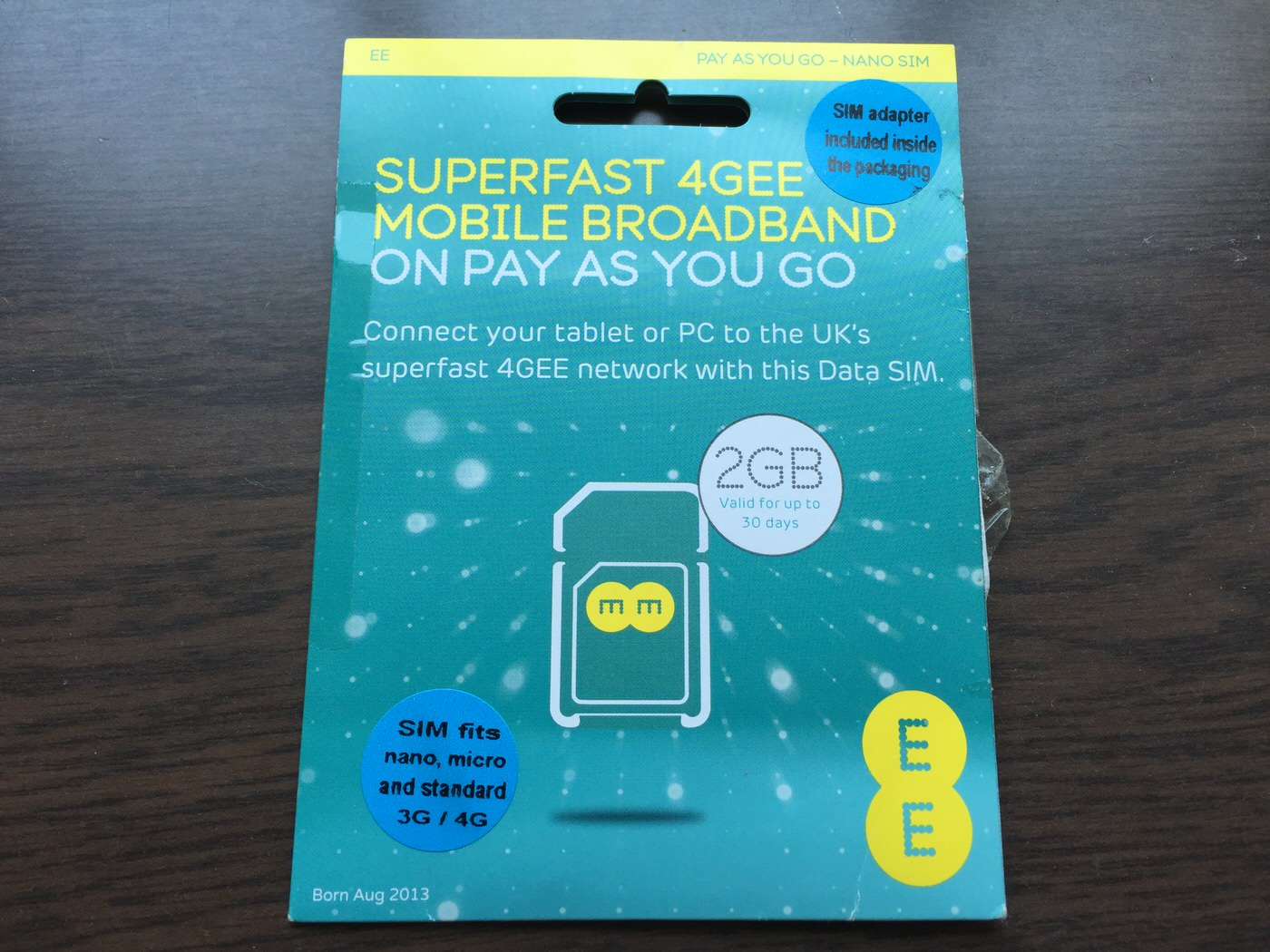 EE-pay as you go