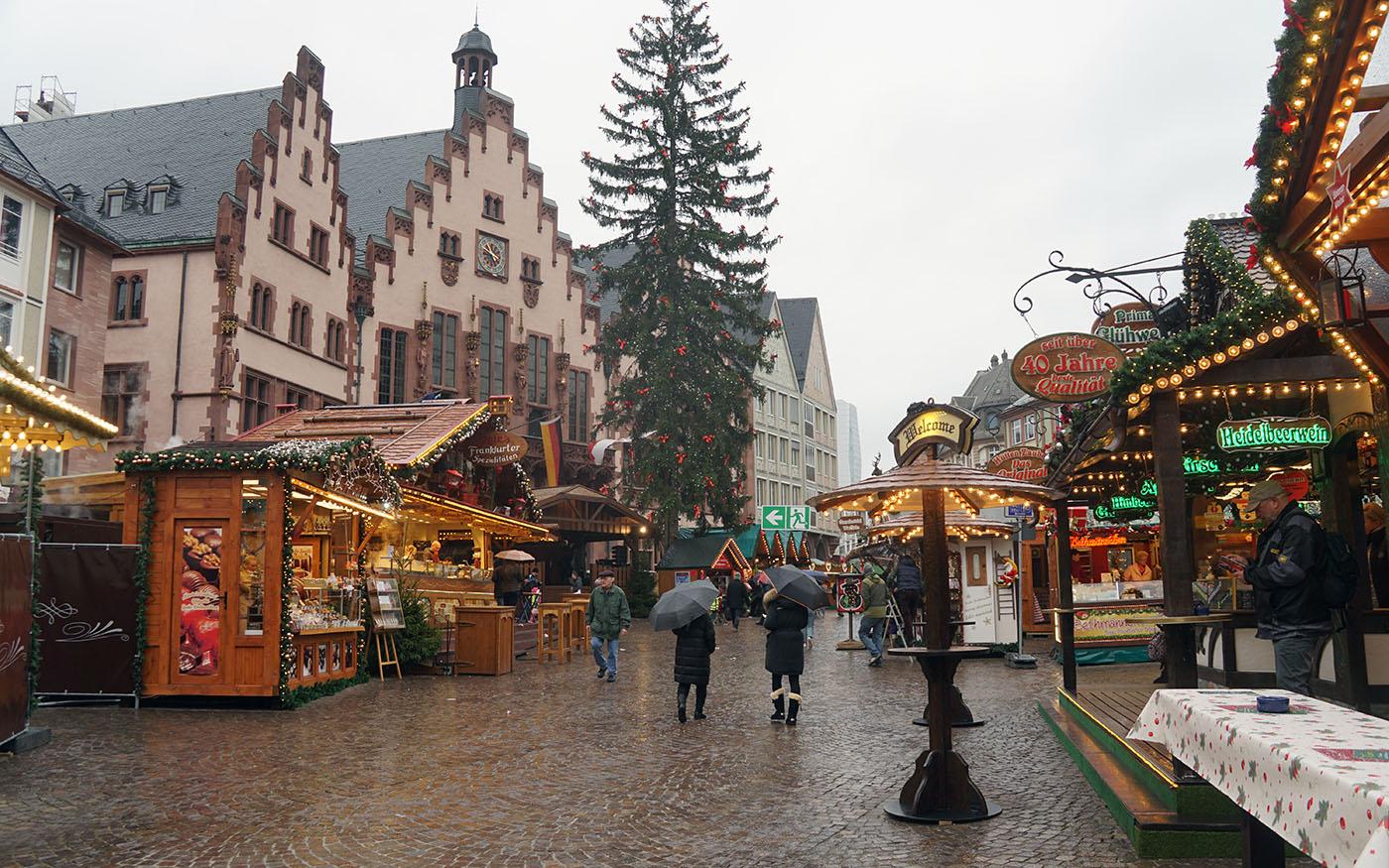 フランクフルトクリスマスマーケット