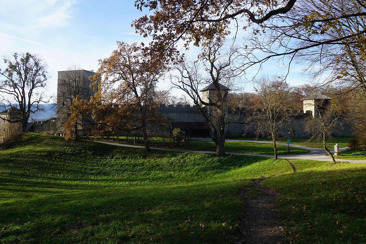 ホーエンザルツブルク城城壁散歩道5