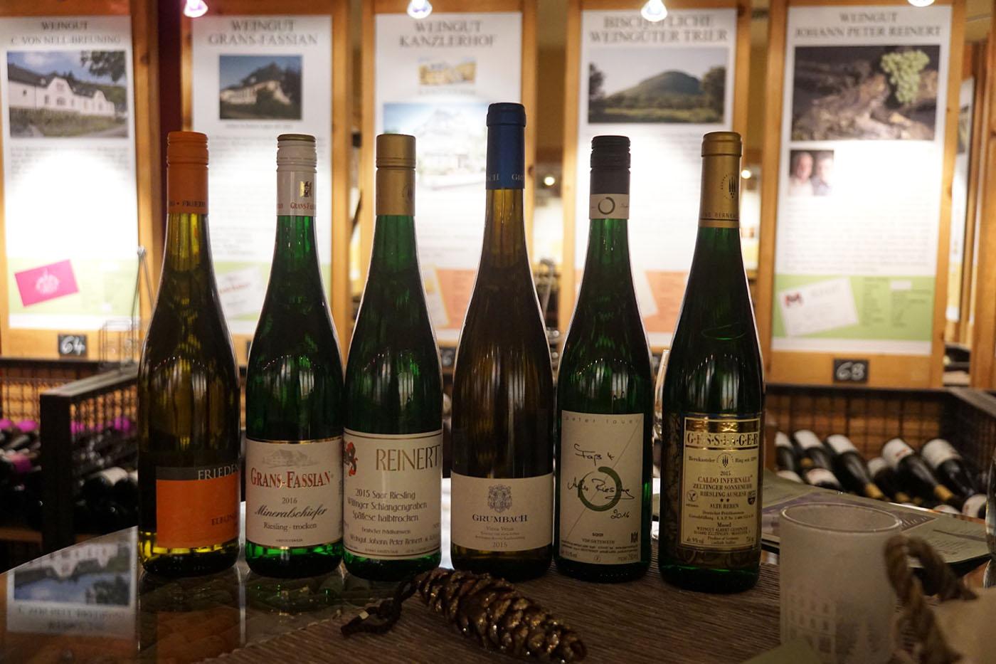 Oechsle Wein Fischhaus