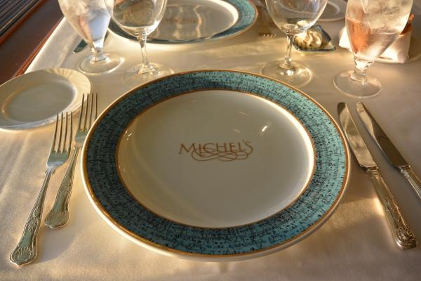 Michelsテーブルセッティング