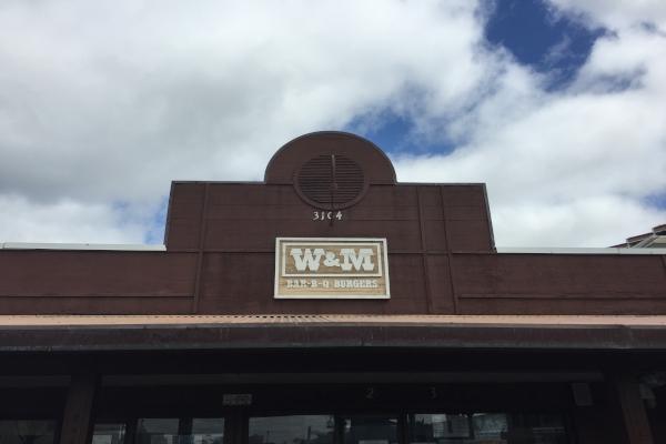 W&M BBQ外観