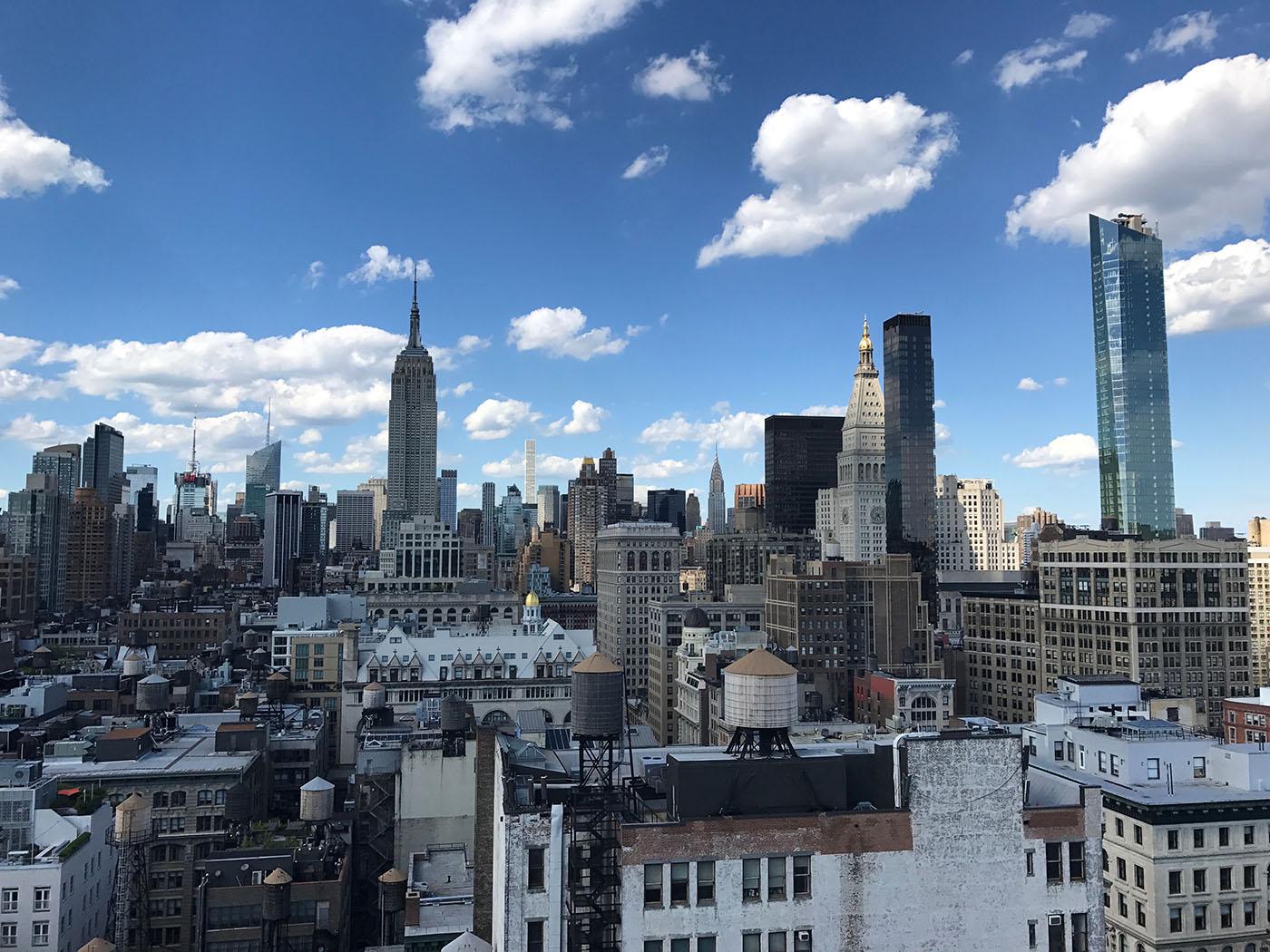 マンハッタンの街並み