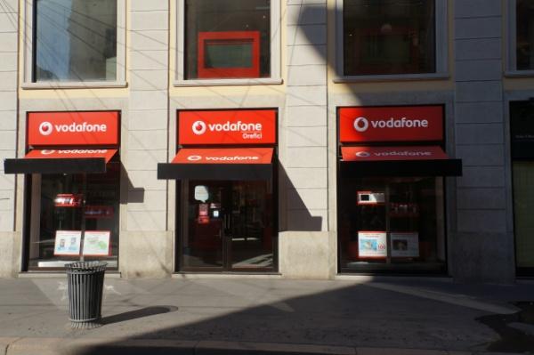 ミラノのVodafone