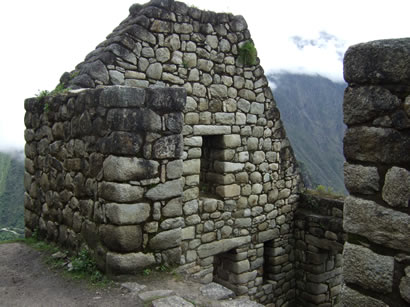 Huaina picchu monument