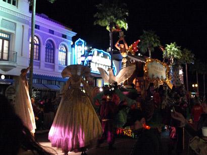 ユニバーサルスタジオフロリダのパレード