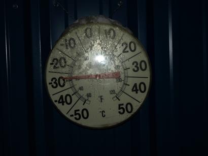 マイナス29℃