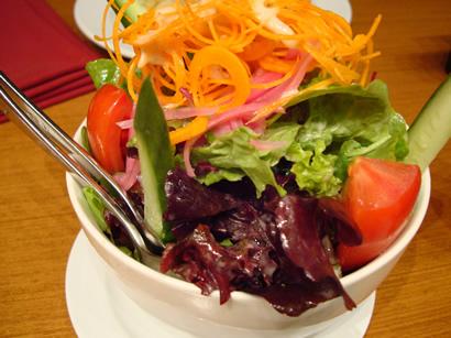 green salada