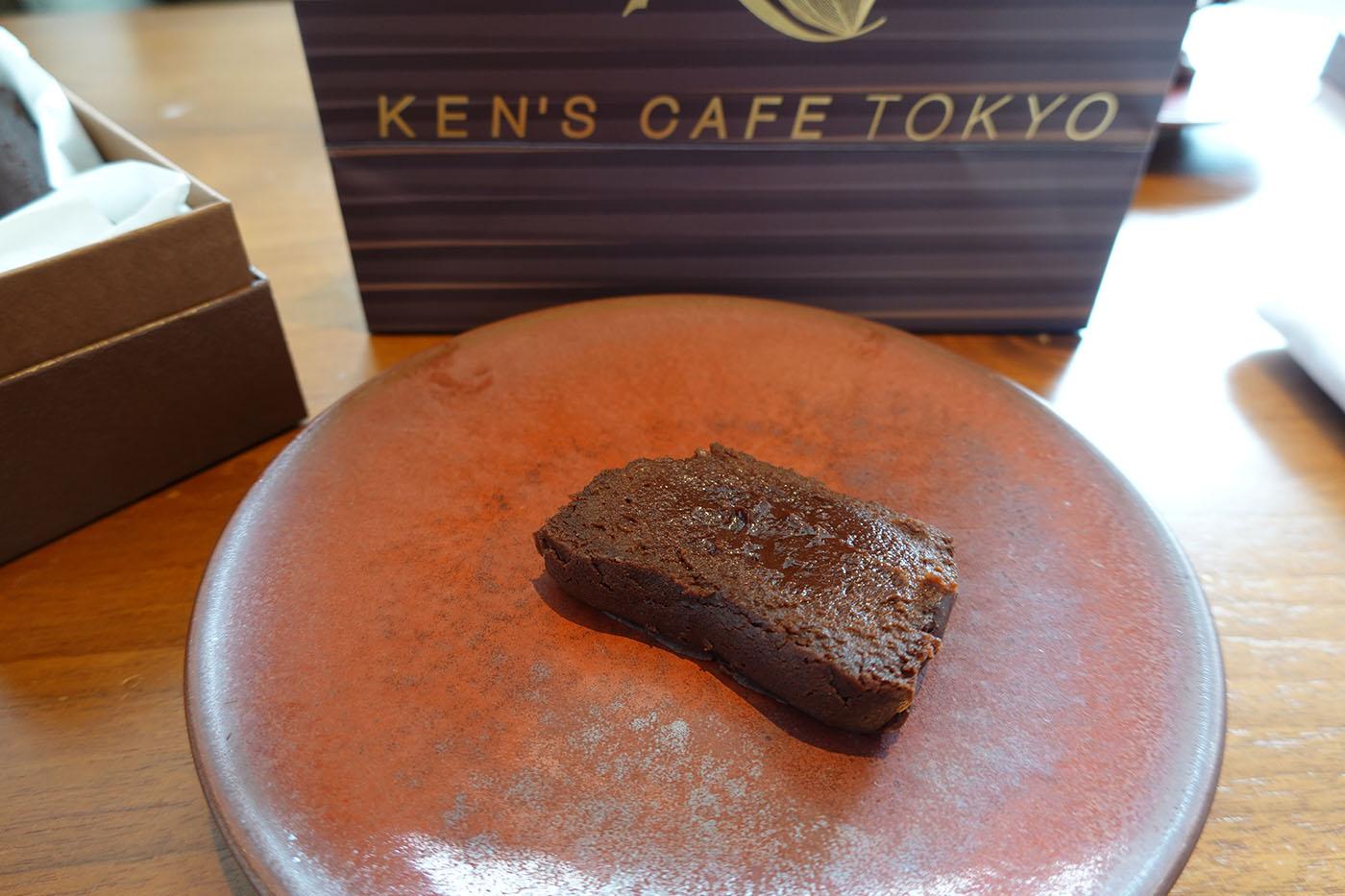 ケンズカフェ東京焼き立てガトーショコラ