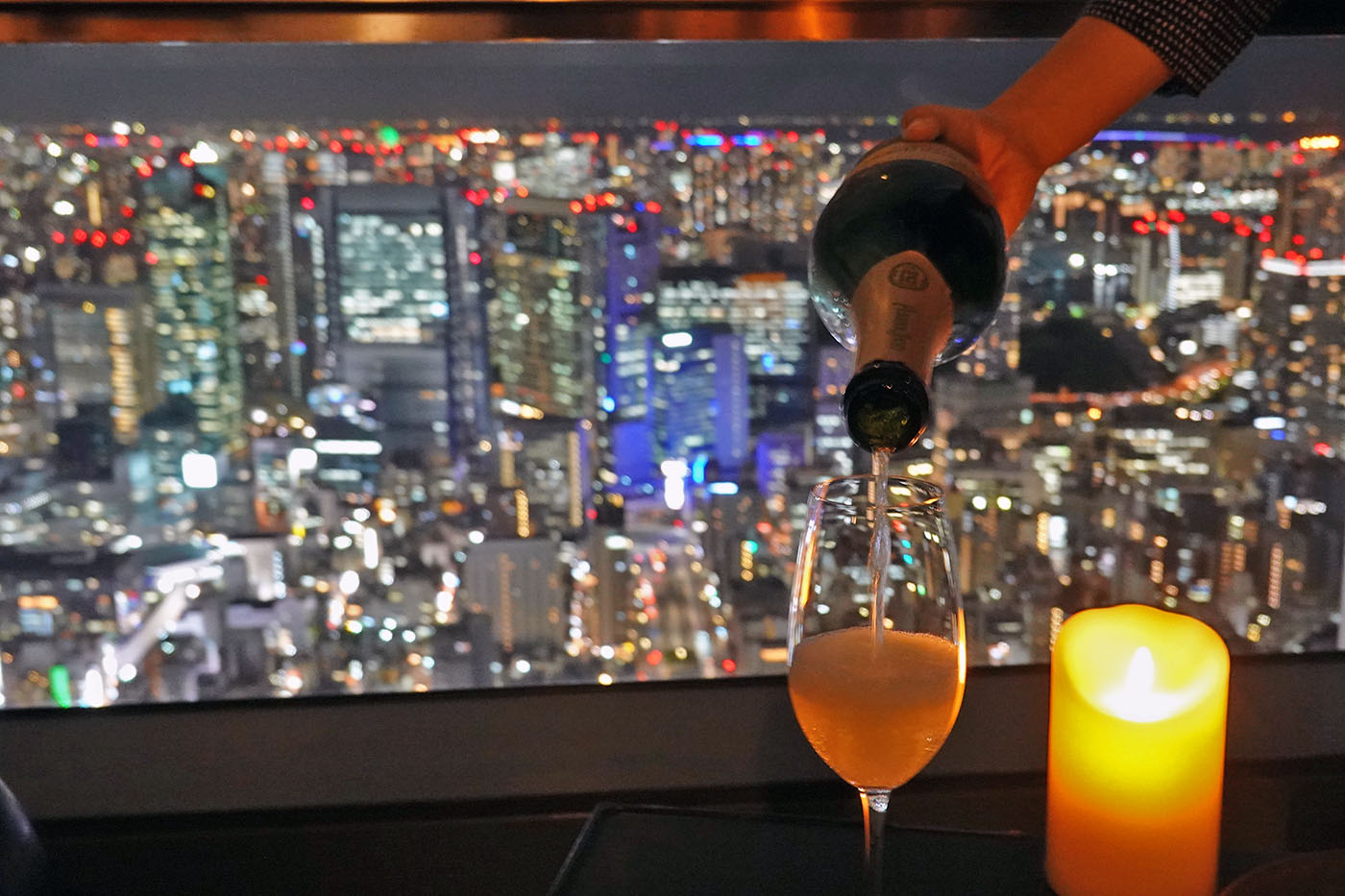アンダーズ東京シャンパンフリーフロー2