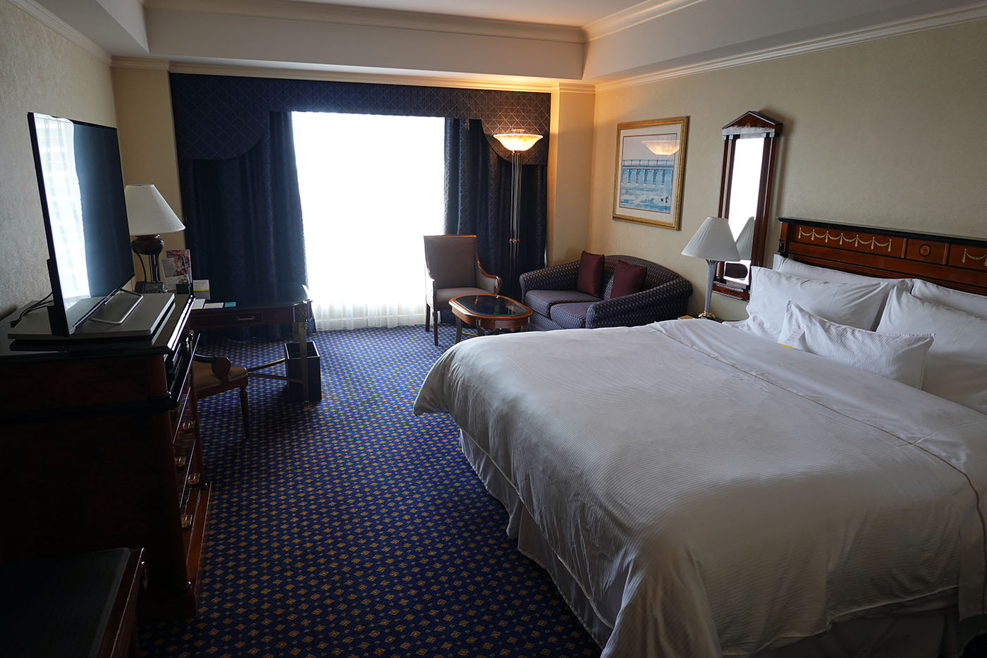 ウェスティンホテル東京お部屋