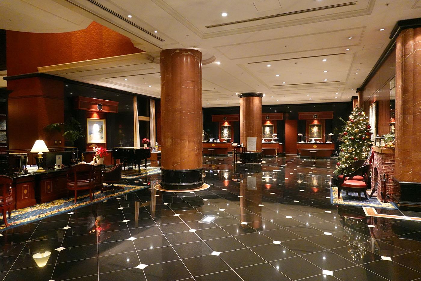 ウェスティンホテル東京チェックインロビー