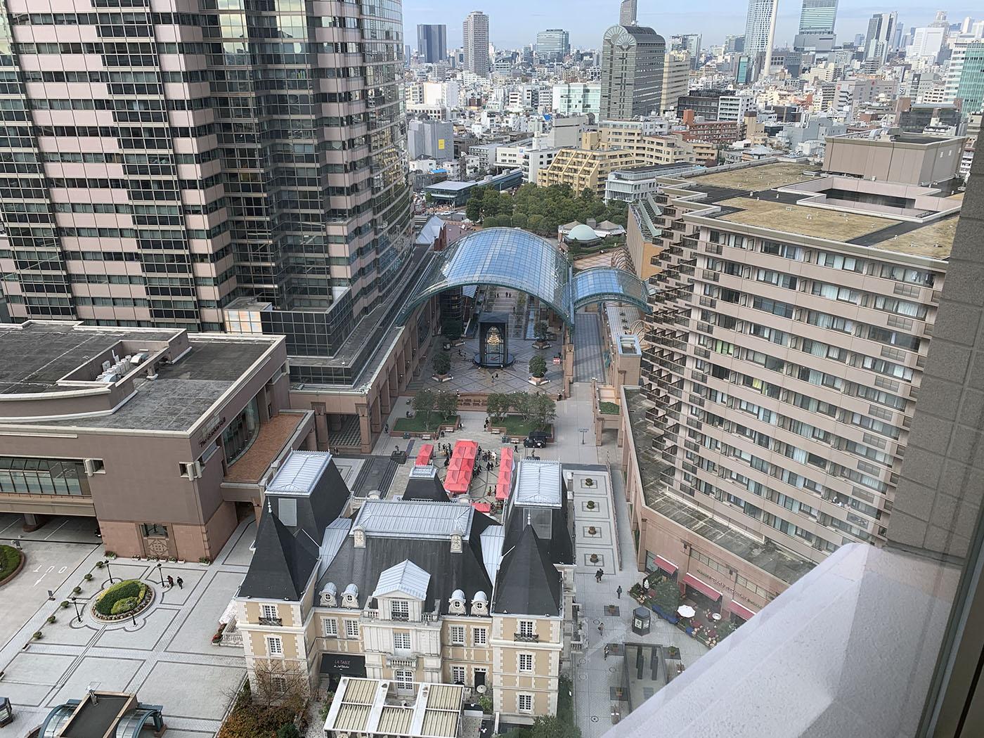 ウェスティンホテル東京からガーデンプレイス