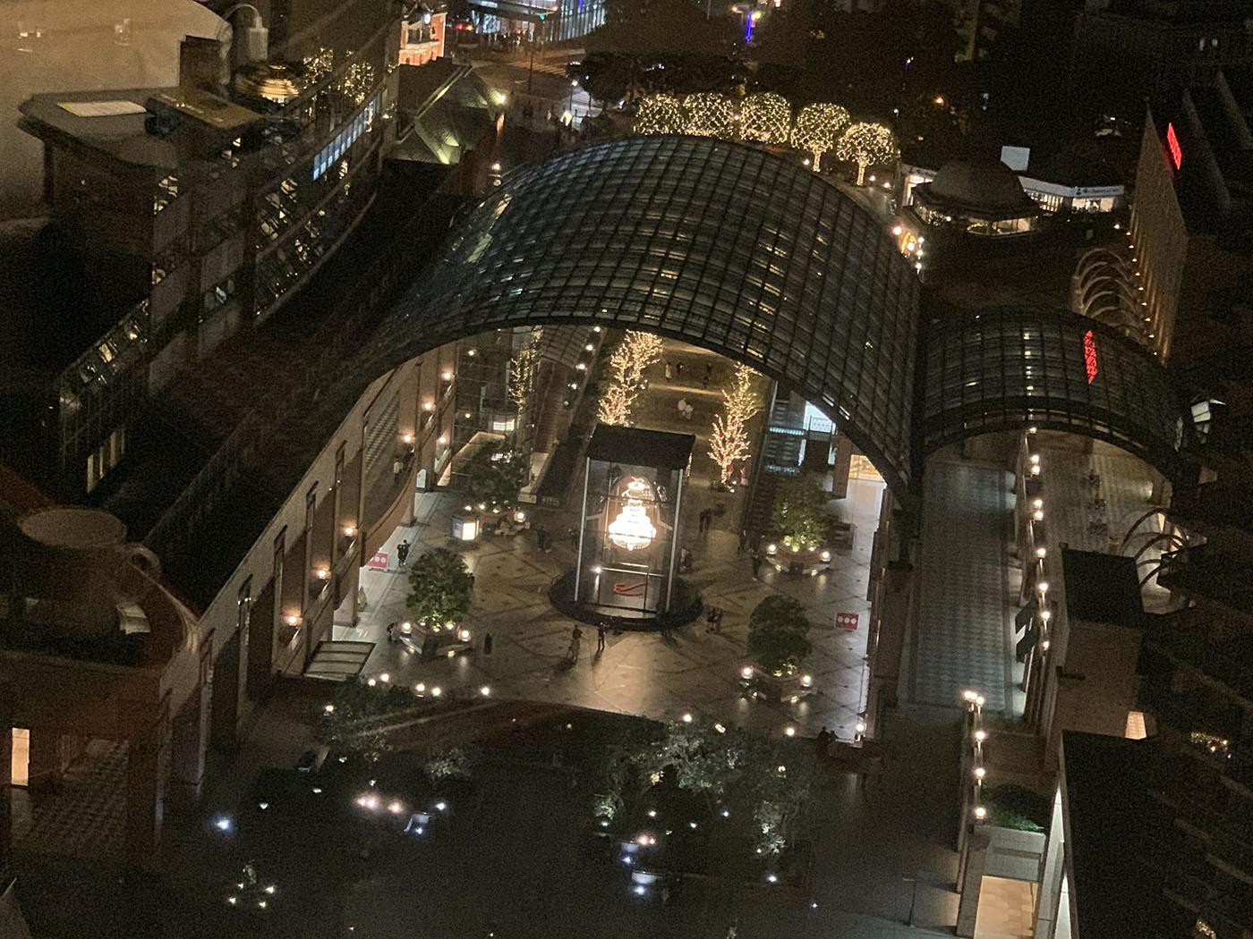 ウェスティンホテル東京からの景色