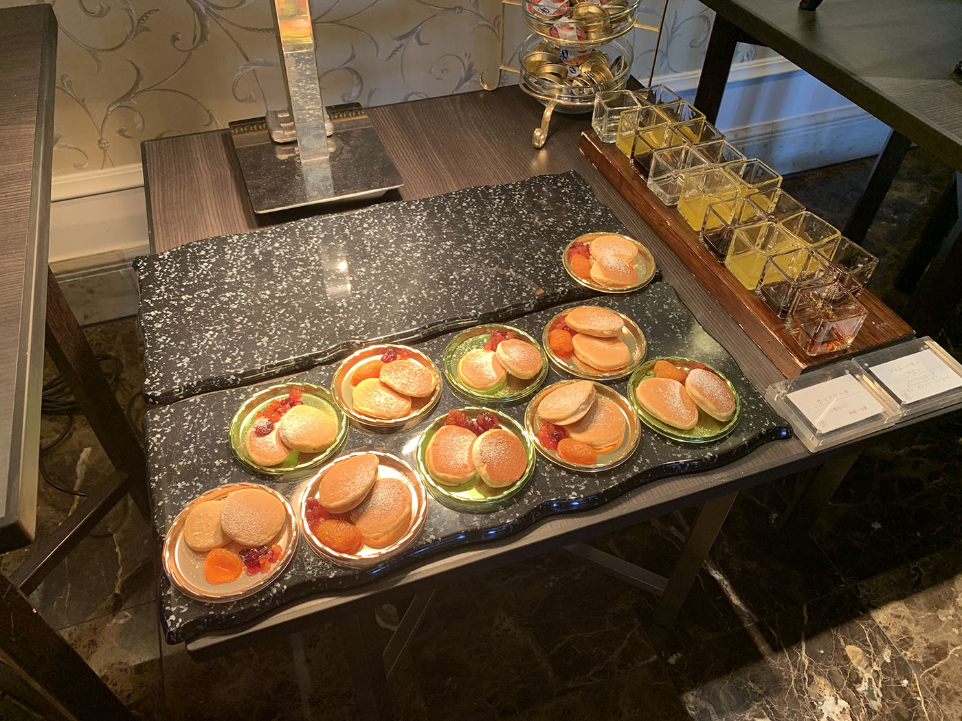 ウェスティンホテル東京ビクターズ朝食