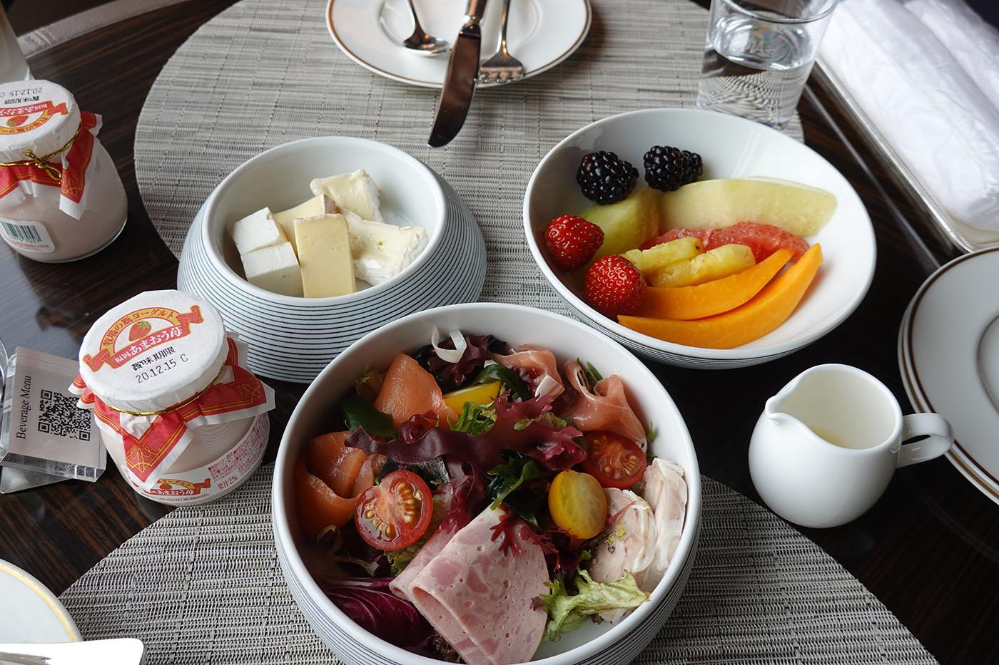 リッツ・カールトン東京クラブラウンジ朝食