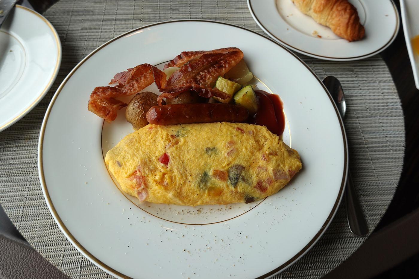 リッツ・カールトン東京クラブラウンジ朝食3