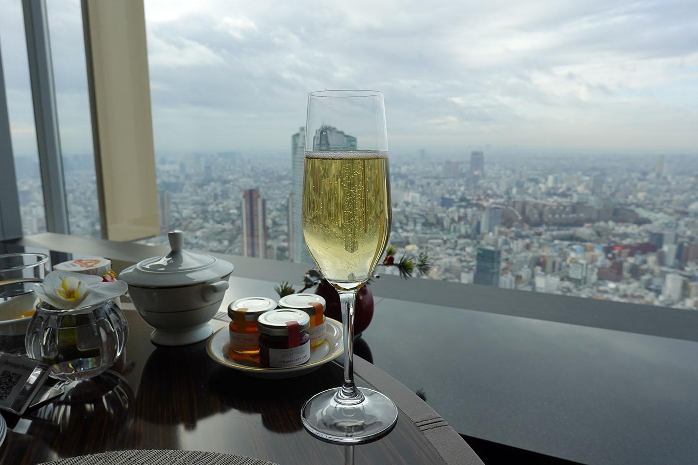 リッツ・カールトン東京クラブラウンジ朝食4