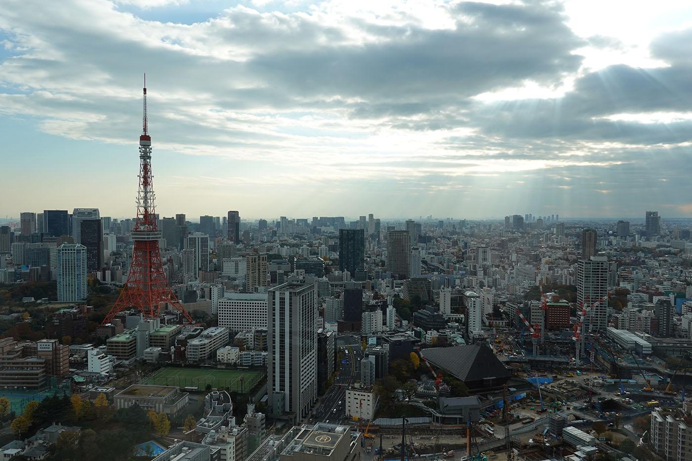 東京エディション虎ノ門お部屋からの眺め