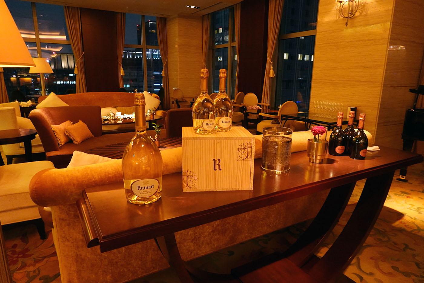シャングリラホテル東京ザロビーラウンジ