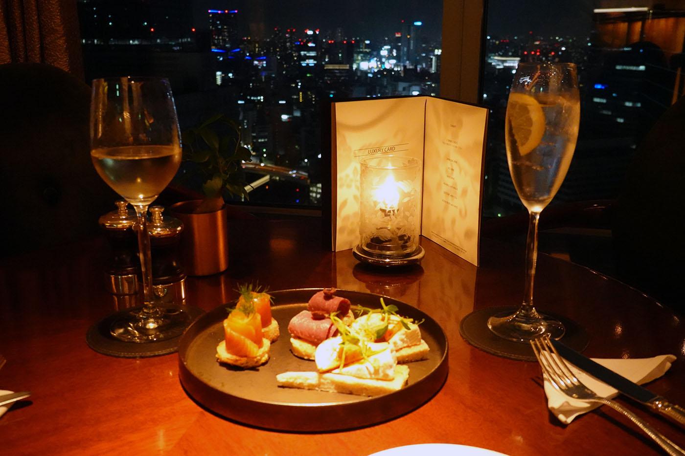 シャングリラホテル東京ロビーラウンジラグジュアリーアワー