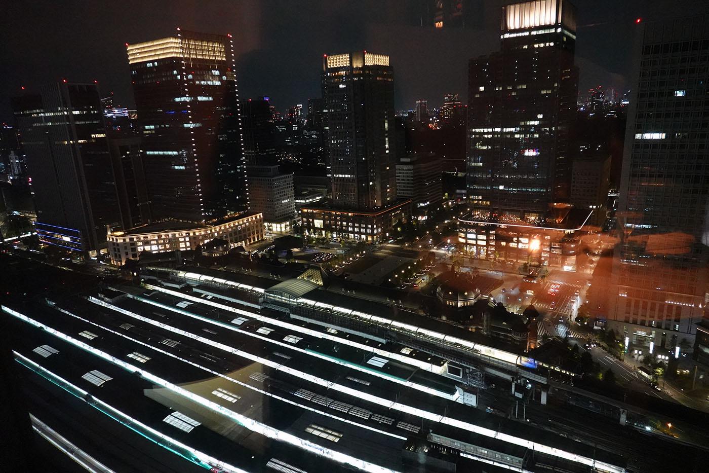 シャングリラホテル東京ピャチェーレ夜景