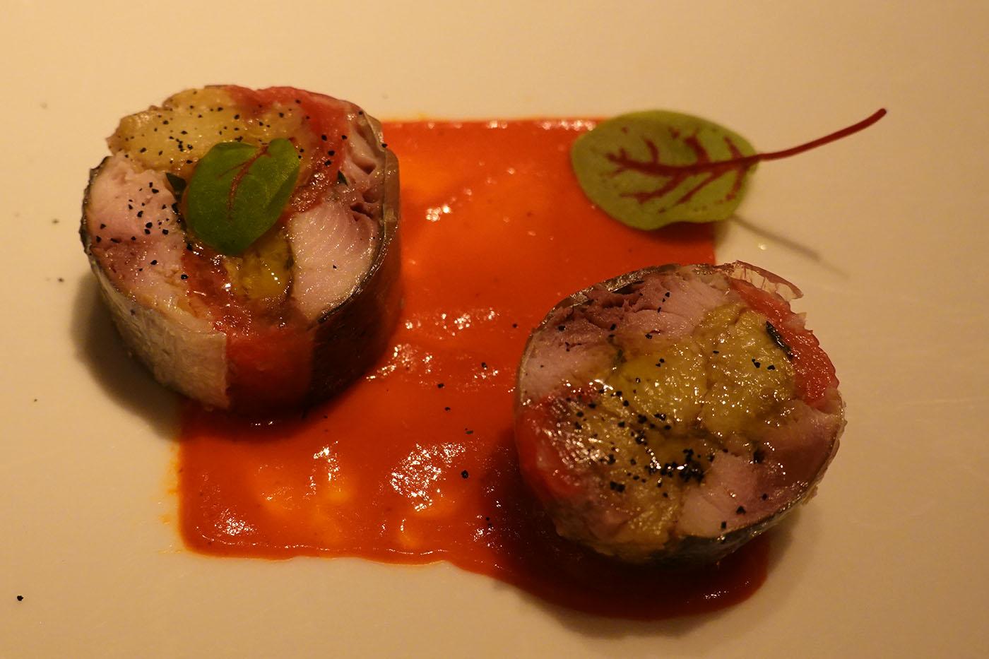 シャングリラホテル東京ピャチェーレ前菜