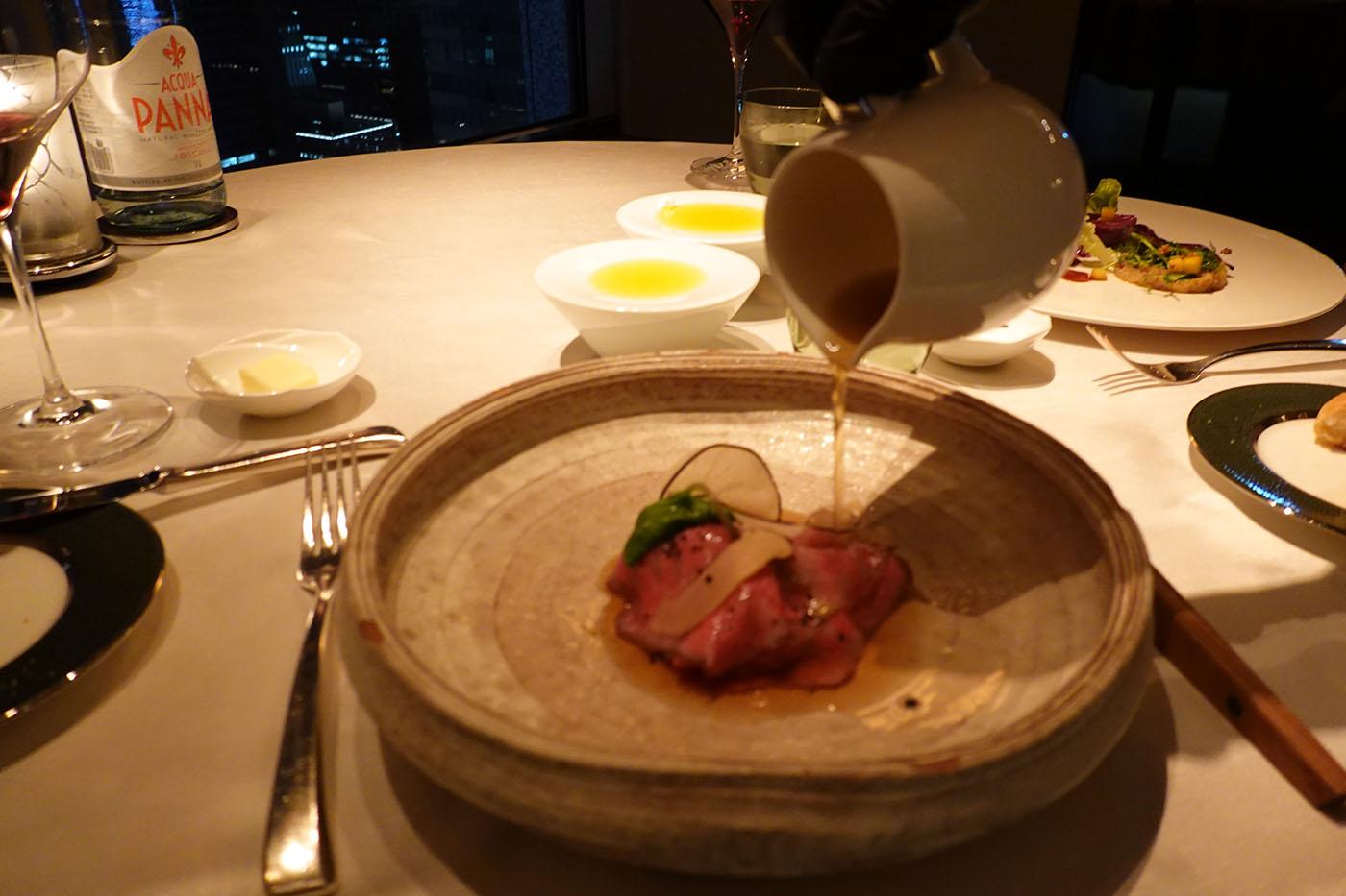 シャングリラホテル東京ピャチェーレ肉料理2