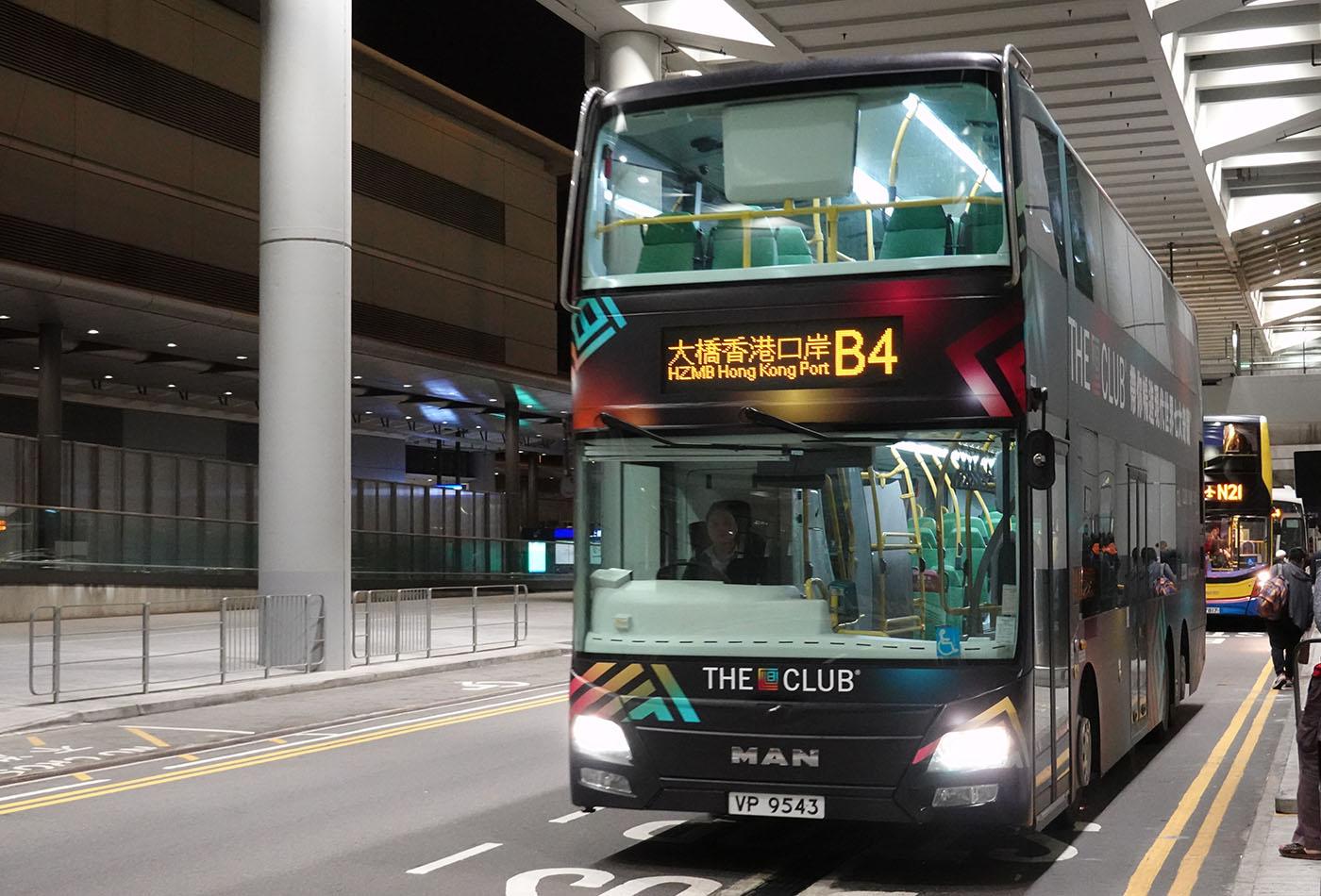 香港口岸行きバス