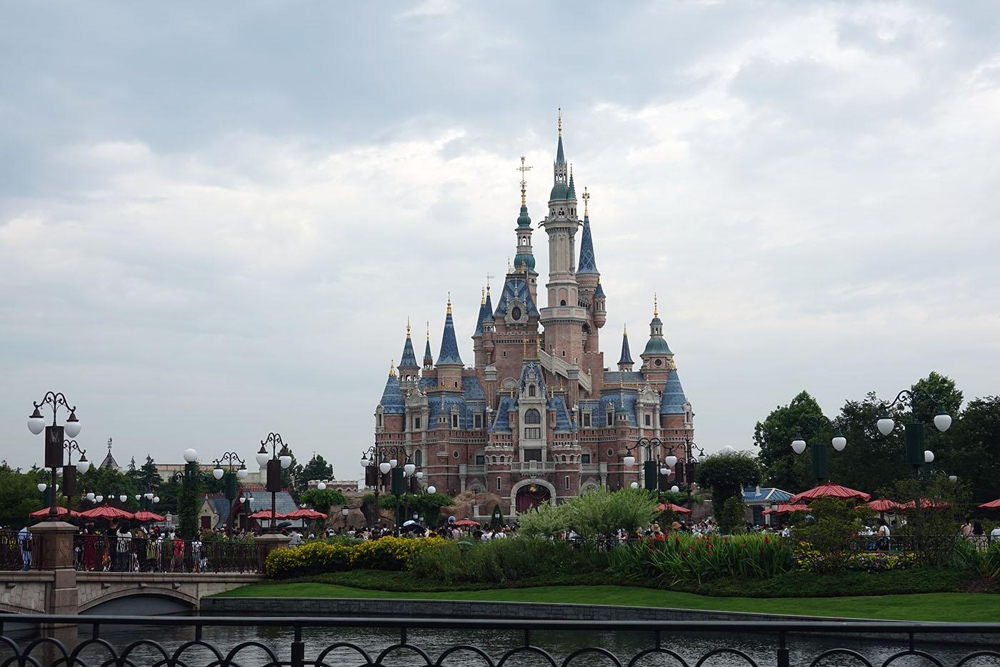 上海ディズニーランドの城