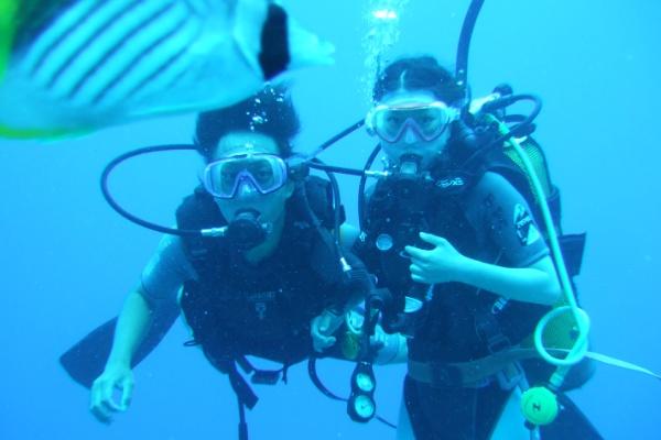 ボラボラ島ダイビング