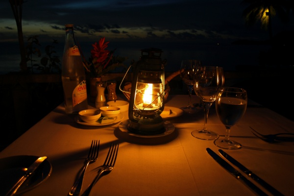 ホテルボラボラのレストラン