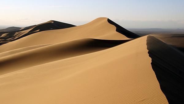 ホンゴル砂丘