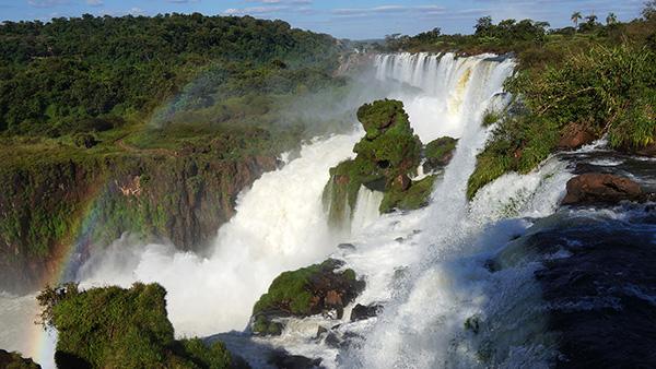 イグアスの滝(アルゼンチン側から)