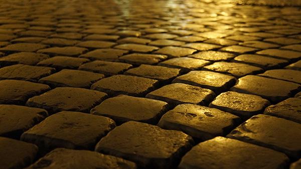 ローマ石畳