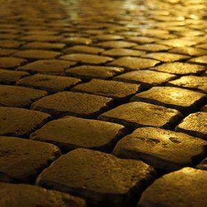 ローマの石畳の壁紙
