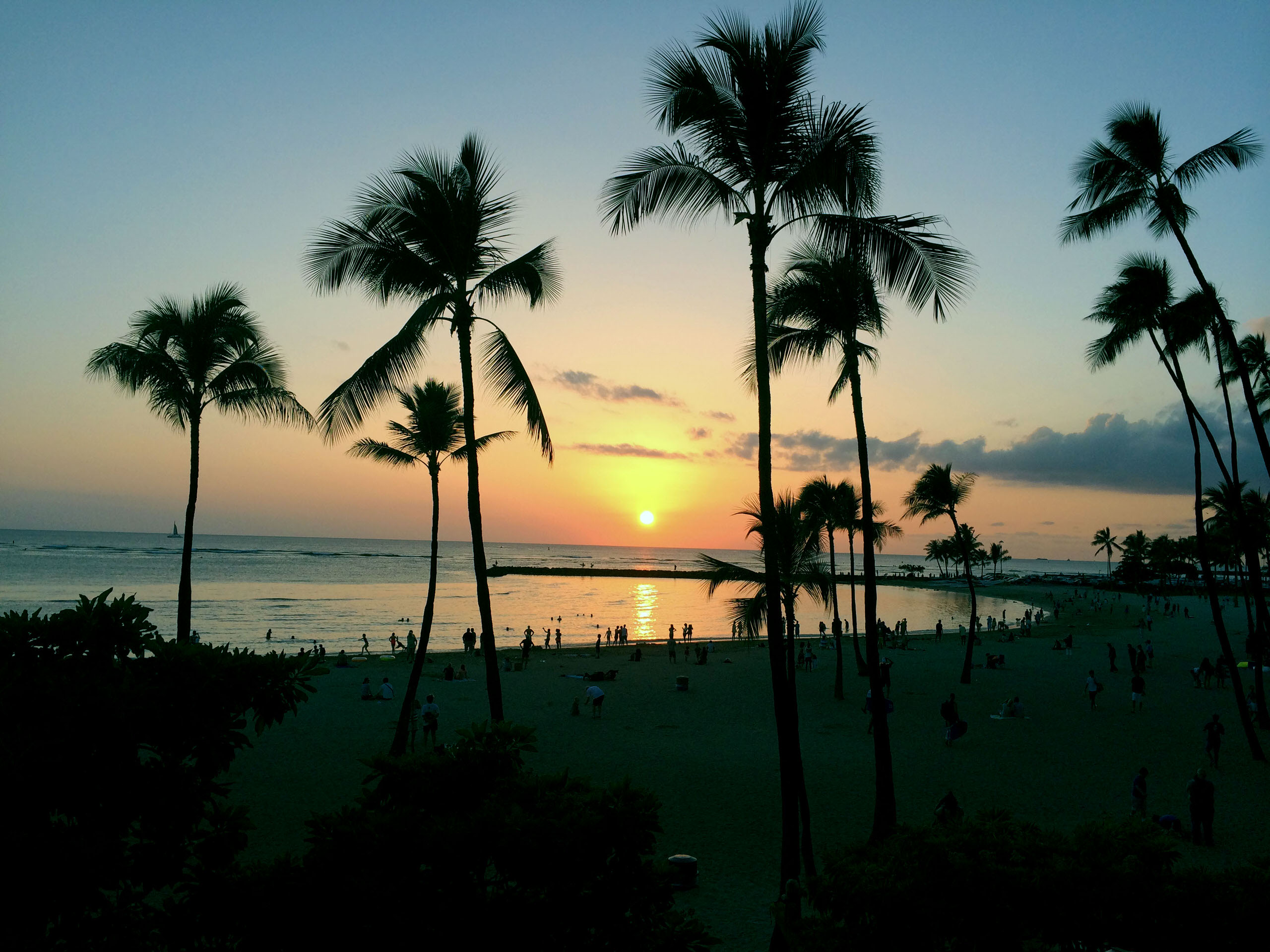 hawaii-sunset